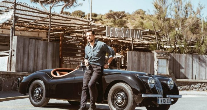 Jaguar Classic Beautifully Restores a Roadster for Supermodel David Gandy