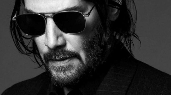 Keanu Reeves, New Face of Saint Laurent