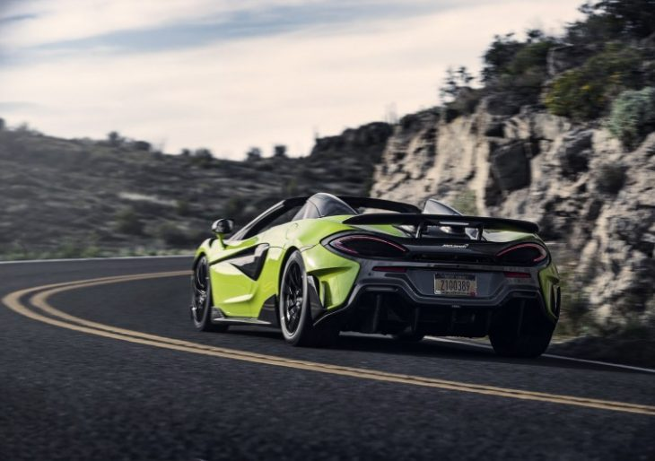 McLaren Opens the Order Book for 600LT Spider, Price Starts at $257K