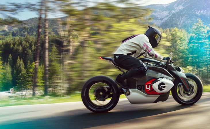 BMW Motorrad Gears Up for Electric Future With Vision DC Roadster