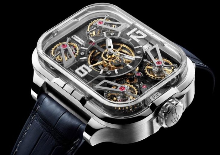 Harry Winston's Histoire de Tourbillon Series Ends With Record-Breaking Four-Tourbillon Timepiece