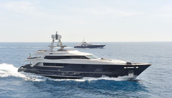 Baglietto-Built IRA Motoryacht Seduces With Contemporary Lines and a Swanky Interior