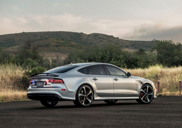 Armored Audi RS7 Hits 60 MPH in 2.9 Seconds, Max Speed 202 MPH