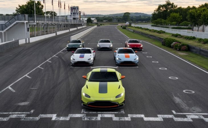 Aston Martin Vantage Heritage Racing Editions Limited to 60 Units