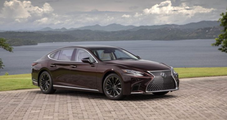 Lexus LS 500 Wears 'Inspiration Series' Badge for Special Edition