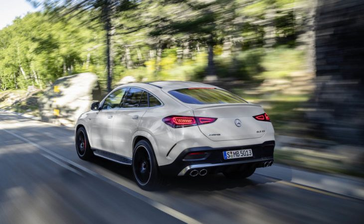2021 Mercedes-AMG GLE 53 Coupe Sports a More Forceful Appearance