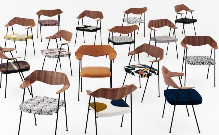 675 Chair, a Modern Classic, Revisited by Contemporary Artists