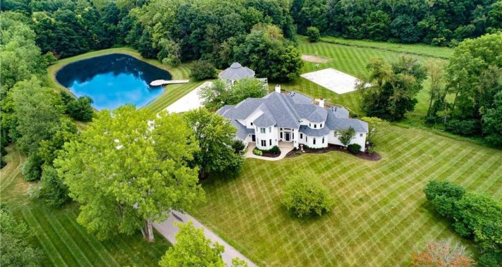 Billionaire Jim Irsay, Owner of the Indianapolis Colts, Lists Indiana Manse for $2.5M