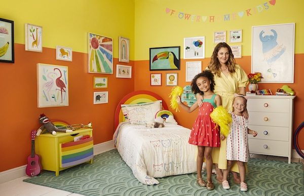 Drew Barrymore Launches Whimsical Line of Kids' Furniture