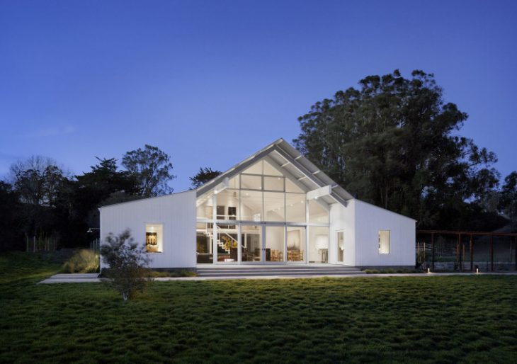 Hupomone Ranch in California by Turnbull Griffin Haesloop