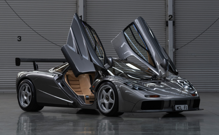 Rare McLaren F1 'LM-Specification' Sold for $19.8M at Auction