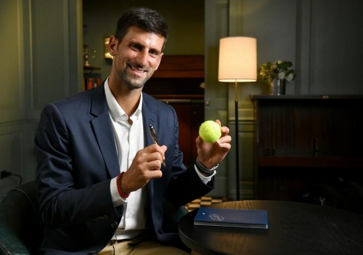 Tennis Champion and World No. 1 Novak Djokovic Teams Up With Montblanc for StarWalker Set