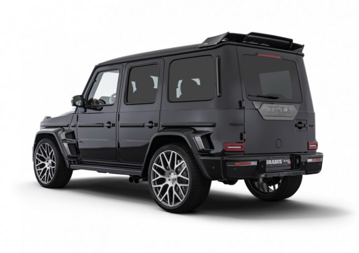 Brabus G V12 900 'One Of Ten' Is a Ferocious Performer With a Luxe Interior