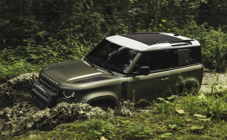 Land Rover's Legendary Defender Reborn With Contemporized Looks