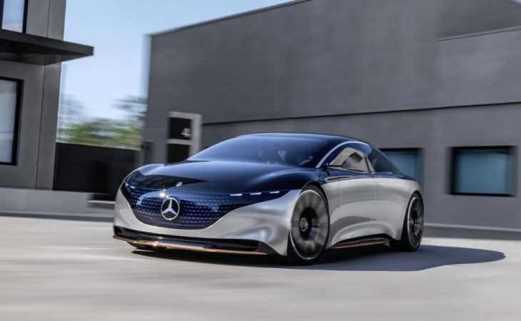 Mercedes-Benz Vision EQS Previews Future of S-Class