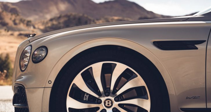Bentley Flying Spur Blackline Specification Removes Chrome Accents for a More Understated Look