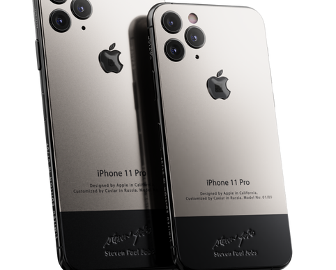 Caviar's $6K 'iPhone 11 Pro Superior Jobs' Contains a Piece of Steve Jobs' Turtleneck