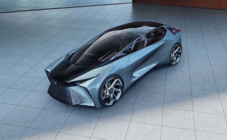 Lexus Stakes a Claim to Future of EVs With 'LF-30 Electrified' Concept