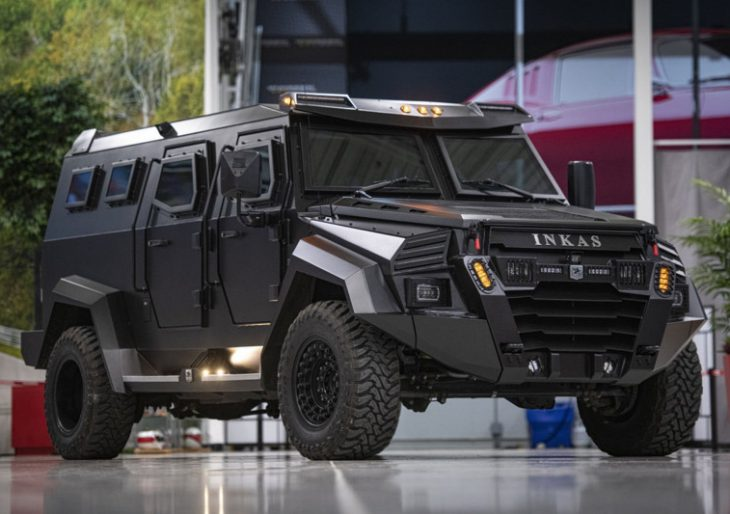Armored Inkas 'Sentry Civilian' Leaves Nothing to Chance