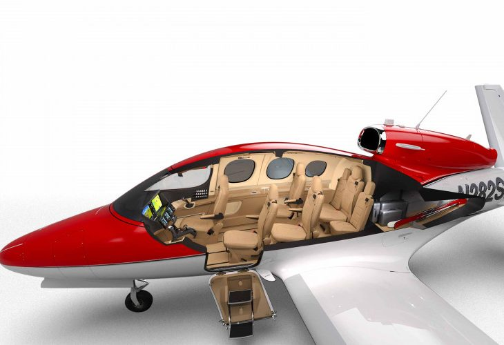 Cirrus G2 Vision Jet Can Land Itself In Case of Emergency