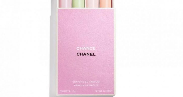 Chanel Launches CHANCE Perfume Pencils