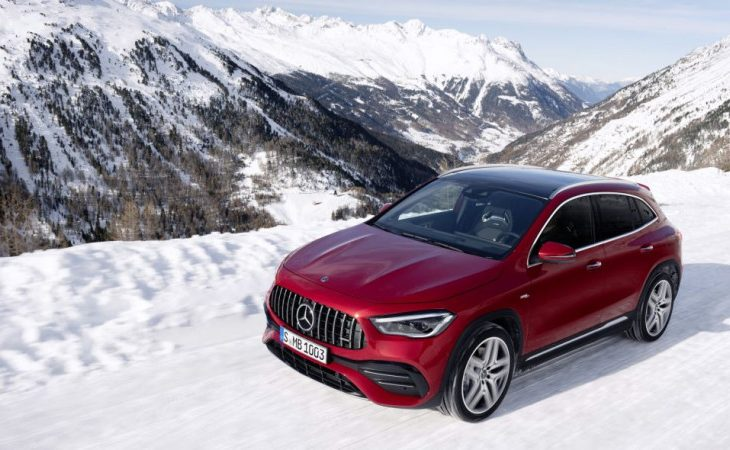 Mercedes-Benz GLA Offers Subcompact Luxury Starting at $35K