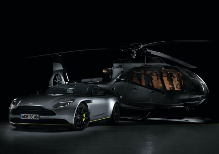 Airbus Corporate Helicopters Reveals ACH130 Aston Martin Edition