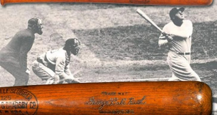 Babe Ruth's 500th-Homer Bat Fetches $1.1M at Auction