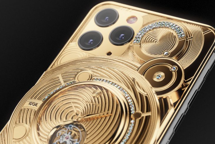 Caviar's iPhone 11 Pro 'Solarius Zenith' Starts at $102K