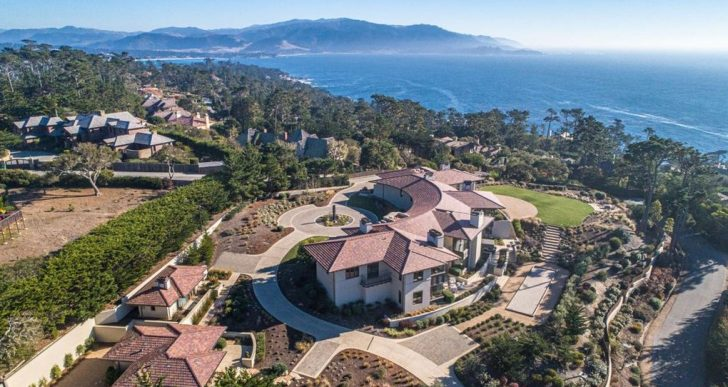 Cisco CEO Chuck Robbins Asking $17M for Recent Build in Pebble Beach