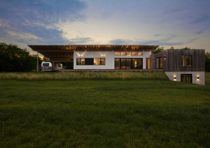 Copperwood House in Indiana by HAUS | Architecture For Modern Lifestyles