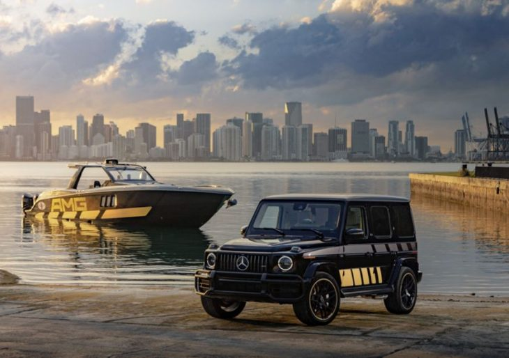 Mercedes-AMG and Cigarette Racing Unveil G63 Cigarette Edition, 59′ Tirranna AMG Edition