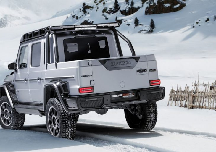Mercedes-AMG G63 Transformed Into Drone-Equipped Truck Compliments of Brabus