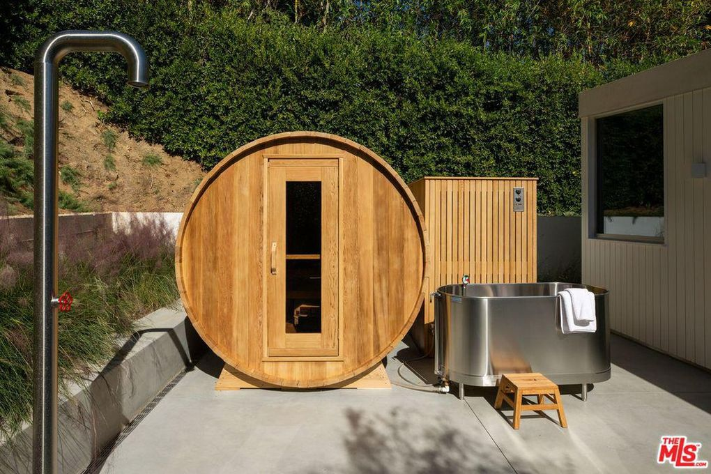 sauna maybe, deprivation tank, it's hard to tell