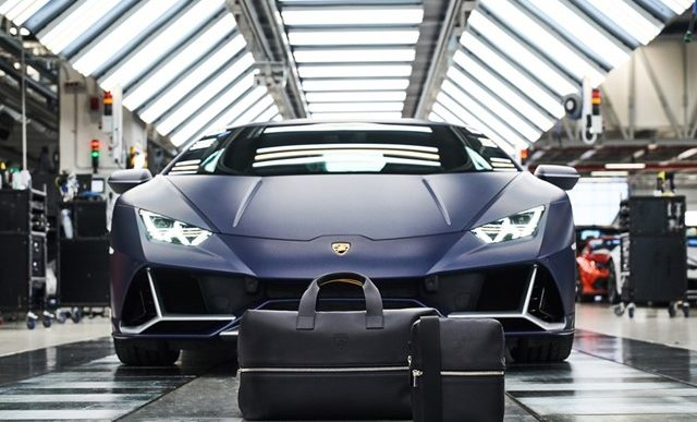 Lamborghini Teams Up With Principe for Leather Goods and Travel Collection