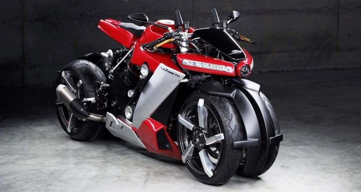 Lazareth Channels Sci-Fi Tropes Into $107K LM410 Motorcycle