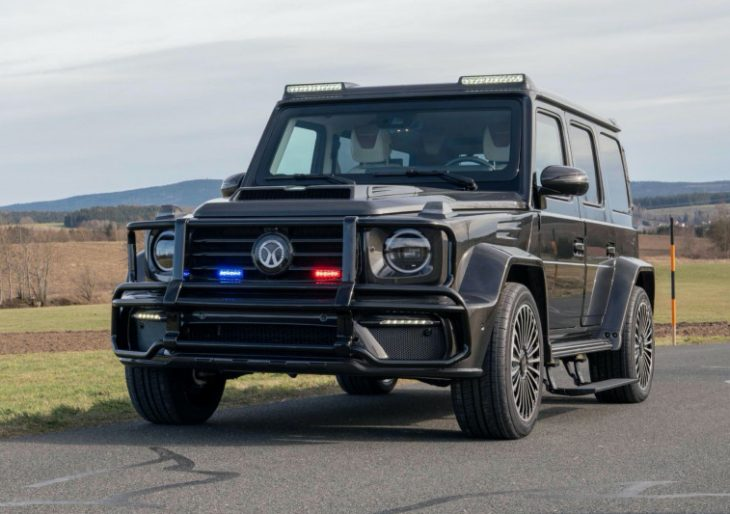 Mansory Serves Up Its First Bulletproof Vehicle With Armored Mercedes-AMG G63