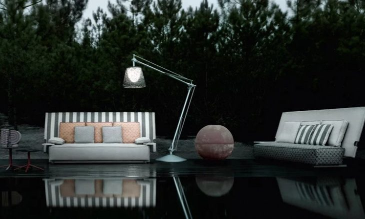 Philippe Starck Creates 'Oh It Rains' Outdoor Furniture Collection for B&B Italia