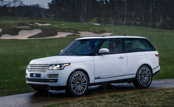Two-Door Range Rover Now a Reality With $295K Adventum Coupe