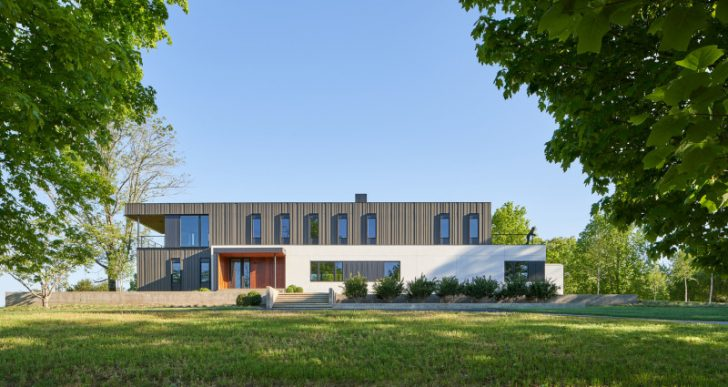 Calloway Ridge House in Knoxville by Sanders Pace Architecture