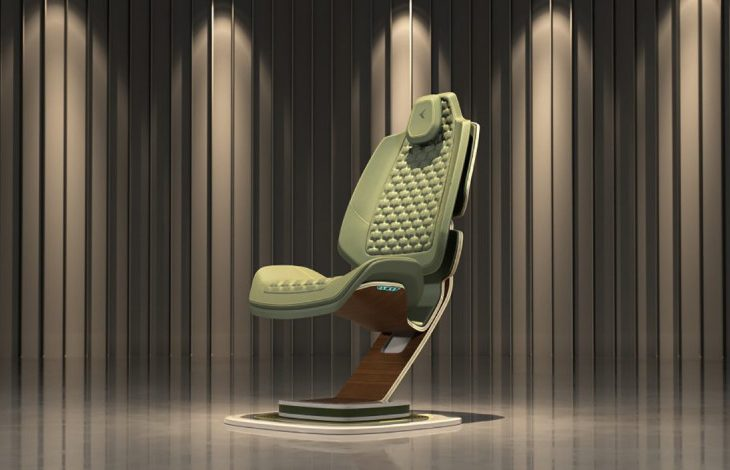 Embraer Paradigma Chair a Soaring Triumph of Jet-Inspired Design