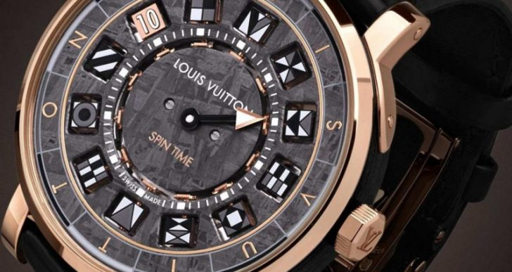 Louis Vuitton 'Escale Spin Time' Features Meteorite Dial