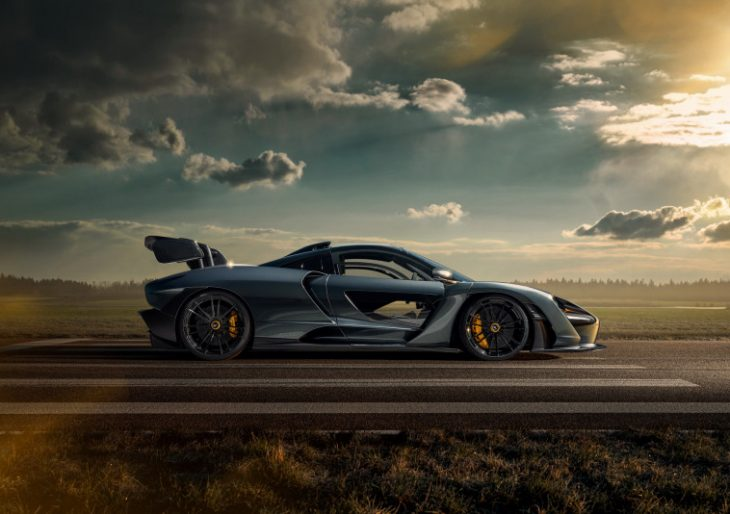 McLaren Senna Boasts 889 Horses Compliments of Novitec