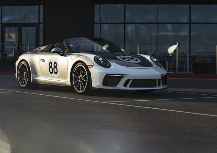 Porsche 911 Speedster Auction Fetches $550K; Proceeds Benefit Coronavirus Relief