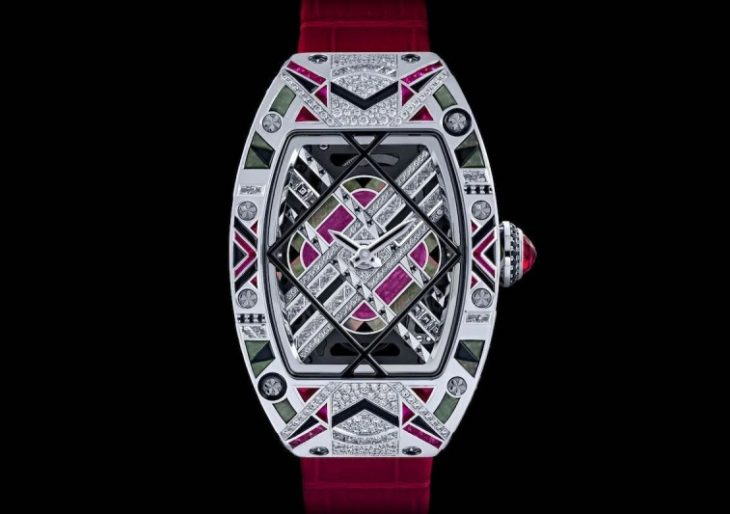 Richard Mille Dazzles With Art Deco-Inspired RM HJ-01