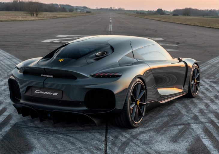 Koenigsegg Continues to Turn Heads With Four-Seat Gemera Hypercar