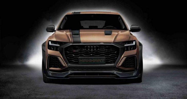 Manhart's $303K RQ 900 Dials Up Audi RS Q8 to 888 HP