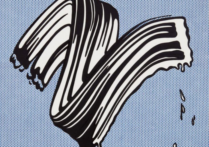 Roy Lichtenstein's 'Brushstroke' Estimated at $30M Ahead of Auction