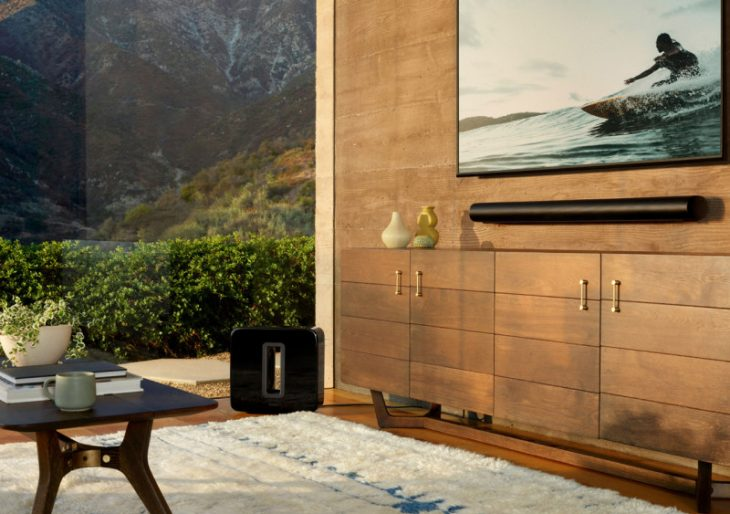 Sonos Wades Into the Living Room With Minimalist Soundbar