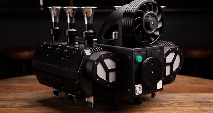 This $11K Coffee Machine Is Inspired by Flat-Six Engine of 90s Porsche 911